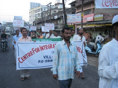 Peoples' march against corruption in Silchar, Assam on 1 May 2001 (image-5)
