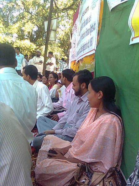 Fasting Against AFSPA at Silchar on 5 Nov. 2011