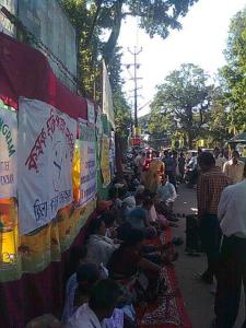 Fasting Against AFSPA at Silchar on 5 Nov. 2011