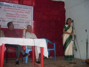 Survivors of TOV felicitated as a part of therapeutic intervention at Silchar, Assam on 10 December, 2011