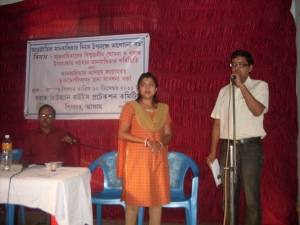 Survivors of TOV felicitated as a part of therapeutic intervention at Silchar, Assam