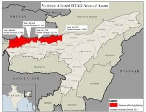 BTAD Assam (Courtesy IDSA)